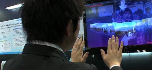AirSwing : Toshiba dévoile son système de contrôle à la Minority Report