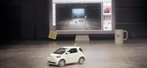 Vidéo : Quand Toyota transforme sa voiture iQ en souris géante…