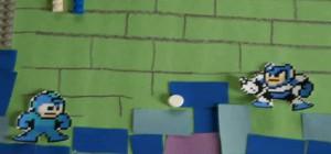 Une compilation vidéo en stop motion des jeux vidéos de NES avec les moyens du bord.