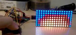 Arduino : Faire du feu sur une matrice de LED RVB, c'est possible…
