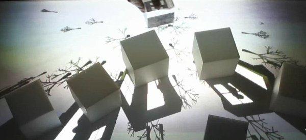 Un concept de réalité augmentée qui joue avec les ombres et la lumière