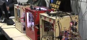 Vidéo : Un concerto joué par 3 robots d'usinage CNC MakerBots
