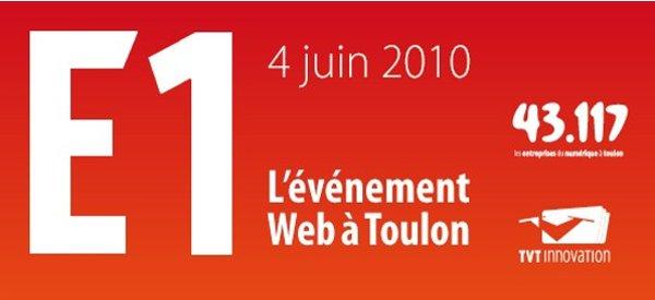 Retour de l'E1 : un Evènement Web à Toulon