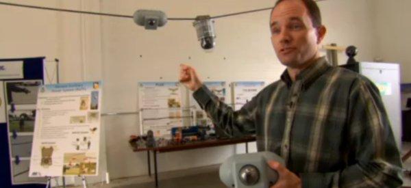 Alimenter des caméras de surveillance grâce à l'induction des lignes électriques