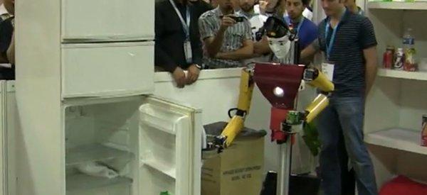 Dynamaid : Encore un robot qui va chercher des bières dans le frigo !