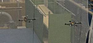 Vidéo : La danse synchronisée de 2 drones quadricoptères autonomes.