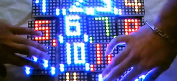 GLiP : Des petits modules avec des matrices de LED RVB très communiquant