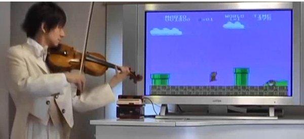 Vidéos : Un concert de thèmes de jeux vidéos joué au violon
