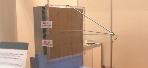 NHK : La caméra à ondes millimétriques qui voit à travers des obstacles