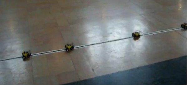 Vidéo : Record du monde de robots suiveurs de ligne