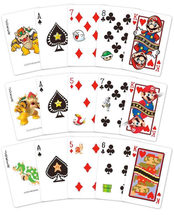 Gadget : Un jeu de cartes à jouer Super Mario - Semageek
