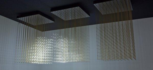Swarm Light : Une oeuvre d'art lumineuse qui réagit en fonction du son