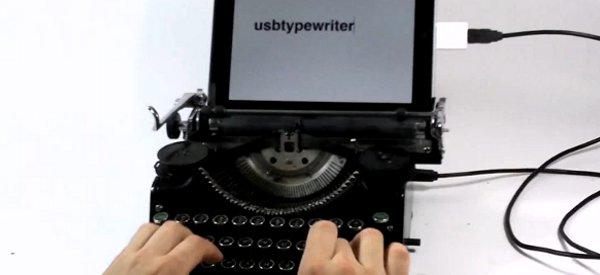 DIY : Recycler votre vieille machine à écrire en clavier USB