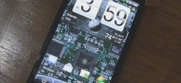 aCircuit : Un fond d'écran pour Android représentant un circuit électronique.