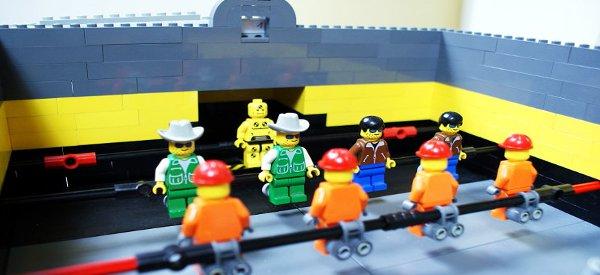 Détente : Fabriquer un babyfoot DIY avec des Lego