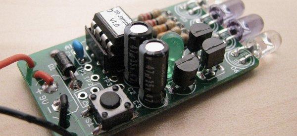 DIY : Fabriquer un brouilleur de télécommande infrarouge