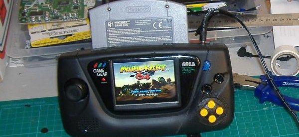 Case Mod : Une Nintendo 64 portable dans intégré dans une Sega GameGear