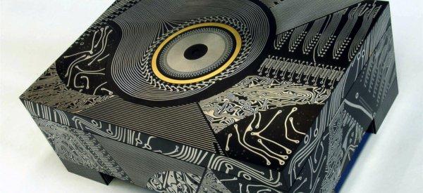 Les oeuvres d'arts circuits imprimés de Theo Kamecke