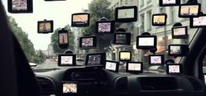 Vidéo : CrossRoads, une installation avec 25 GPS dans une voiture.
