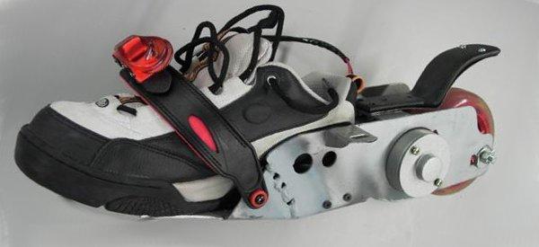 TreadWay Mobility : Une paires de chaussures motorisées DIY