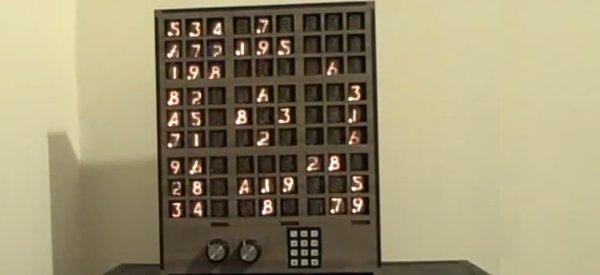 DIY : Un revolveur de Sudoku à base d'Arduino et de tubes Nixies