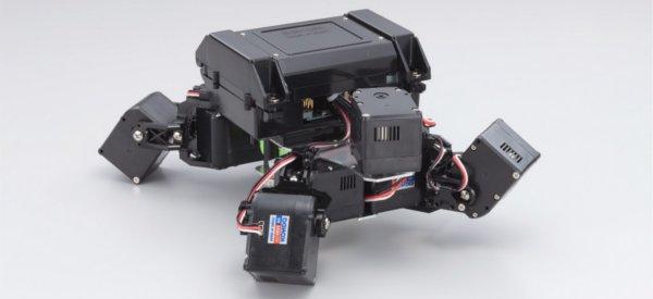 Kame Robotto : Le robot sur le modèle animal de la tortue de Kondo