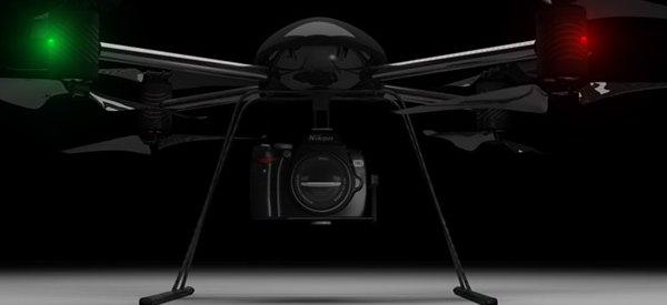 DraganFlyer X8 : Un concept de drone à 8 pales