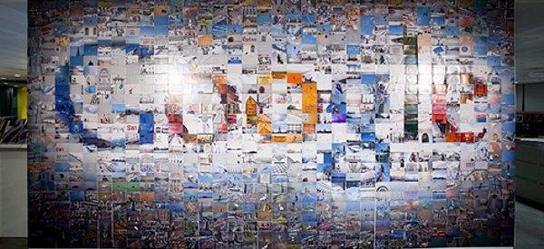 Googley Art Walls : Quand les équipes de Google font de l'art...