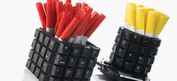 7 objets geek conçus à partir de composants recyclés