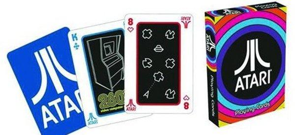 Geek : Un jeu de carte à jouer Atari oldschool