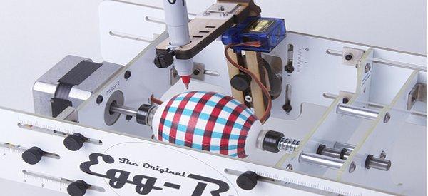 EggBot : Une machine pour dessiner sur les oeufs