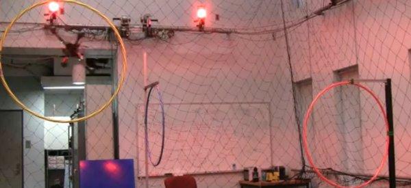 Les manoeuvres agressives et précises d'un drone hélicoptère quadri-rotors 2 : Le retour