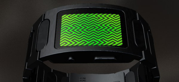 Gadget : Une montre Tokyoflash à LED et illusion d'optique