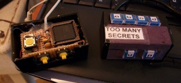 DIY : Fabriquez un boitier Passy-Pass pour générer et stocker vos mot de passe