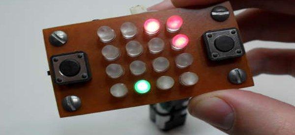 DIY : Fabriquer une console jeu à LED portable minimaliste