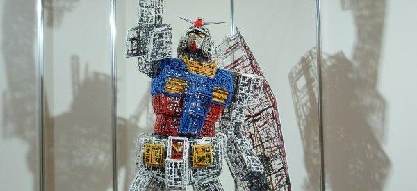 DIY : Un robot Gundam Runner réalisé avec des déchets de maquettes