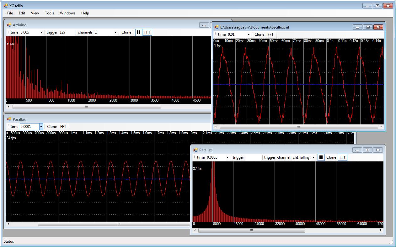 Diy fabriquer un oscilloscope usb avec kit arduino
