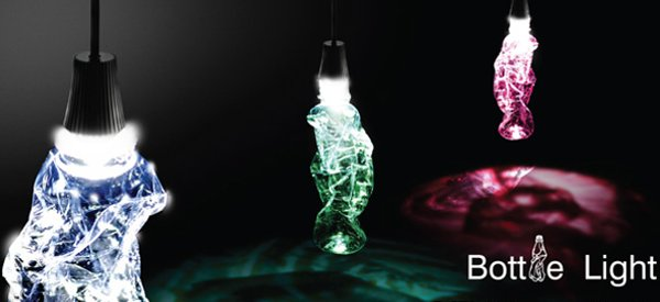 Bottle Light : Recycler une bouteille en ampoule originale.