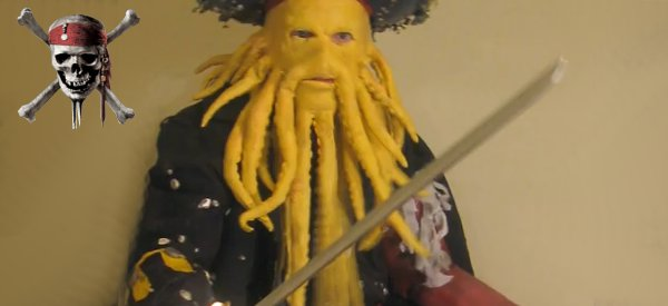 DIY : Fabriquer le costume de Davy Jones de Pirates des Caraïbes