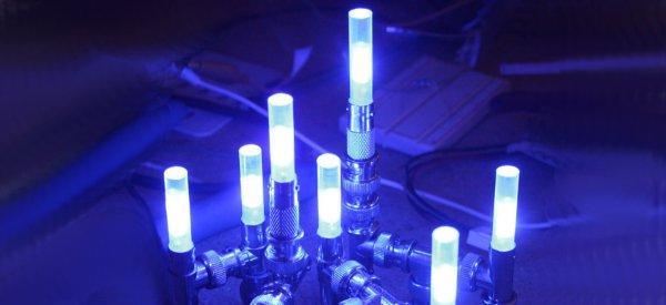 DIY : Fabriquer une lampe à LED avec des adaptateurs BNC