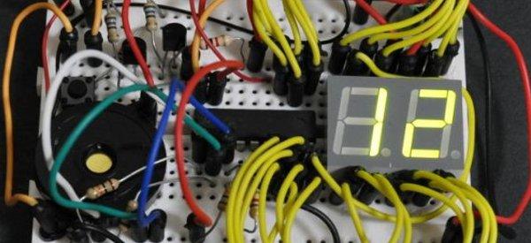 DIY : Fabriquer un jeu électronique où il faut désamorcer une bombe