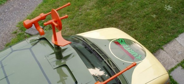 Cowabunga : Transformer un monospace en Mini Van des Tortues Ninja