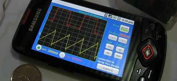 DIY : Transformer un mobile Android en oscilloscope numérique