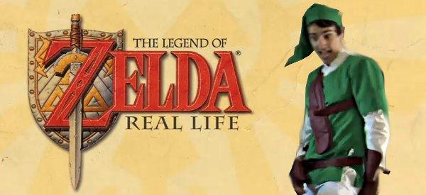Vidéo : La Légende de Zelda dans la vrai vie (IRL)