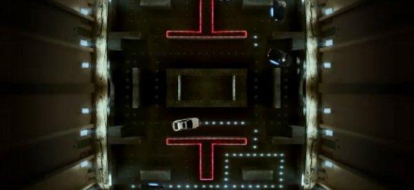 Vidéo : Jouer à Pacman indoors avec cinq voitures Chevrolet Cruze T