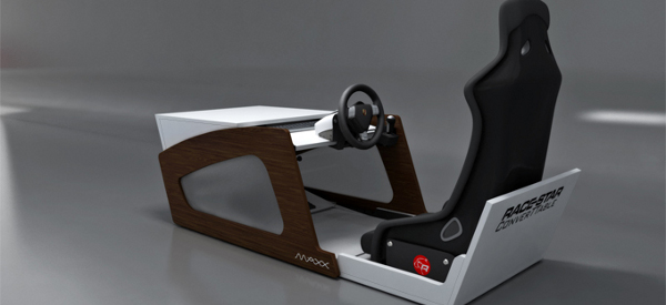 RaceStar ConverTTable : Un cockpit de simulateur automobile caché dans une table base