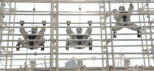 Yume Robo : Le robot humanoïde d'escalade qui grimpe des structures métalliques