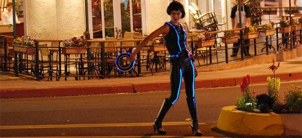 Syuzi réalise un magnifique costume de Quorra dans Tron