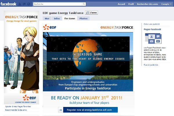 edf energy task force [Sponso] EDF lance Energy TaskForce, un serious game sur lénergie