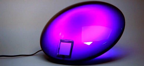 Une lampe JellyFish à LED RVB avec 16.7 millions de couleurs